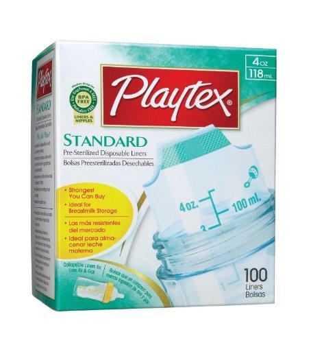 Playtex Original Disposable Liners - 4oz - 1