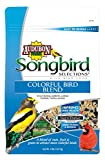 Songbird Selections 1025103 Colorful Bird Seed Blend Wild Bird Food Bag, 4-Pound