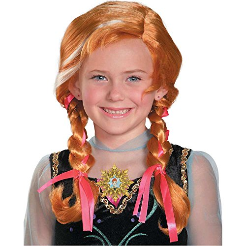 Kids Frozen Anna Wig - One Size
