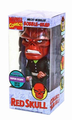 Picture of Funko Red Skull Wacky Wobbler Figure (B001F2G1XW) (Funko Action Figures)