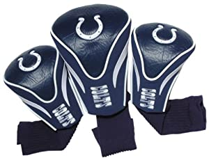 NFL Indianapolis Colts 3 Pack Contour Fit Headcover by Team Golf