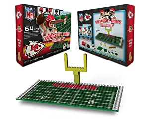 NFL Kansas City Chiefs Endzone Toy Set by OYO