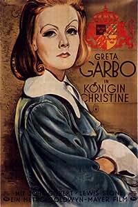 Queen Christina Poster Movie German 11 x 17 In - 28cm x 44cm Greta Garbo John Gilbert Lewis Stone Sir C. Aubrey Smith Ian Keith Reginald Owen