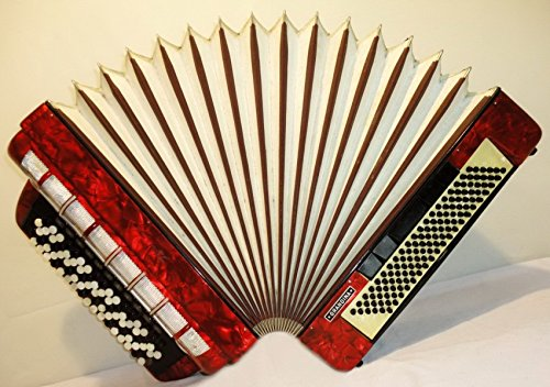 5 Rows 120 Bass Weltmeiste R Grandina German Button Accordion Bayan B System 249