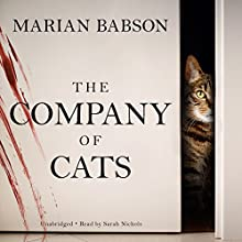 The Company of Cats Audiobook by Marian Babson Narrated by Sarah Nichols