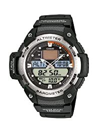 Casio Men's Combi Watch Sgw-400H-1Bver With Resin Strap
