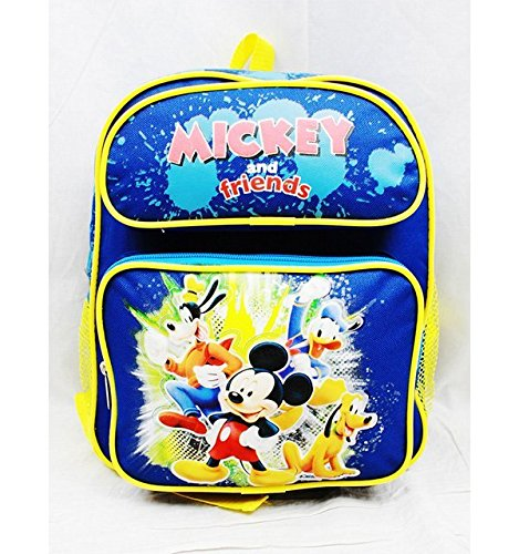 Small Backpack - Disney - Mickey Mouse