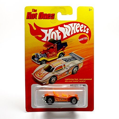 MEYERS MANX (ORANGE) * The Hot Ones * 2011 Release of the 80's Classic Series - 1:64 Scale Throw Back HOT WHEELS Die-Cast Vehicle - 1