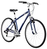 Diamondback 2013 Men's Edgewood Sport Hybrid Bike with 700c Wheels  (Blue, 17-Inch/Medium)