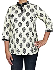 Casual Summer Dresses For Women Printed Cotton Kurti Top Comfortable Airy