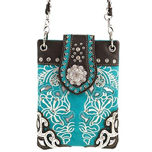 justin-west-western-buckle-embroidered-flower-rhinestone-crossbody-mini-handbag-phone-messenger-purs