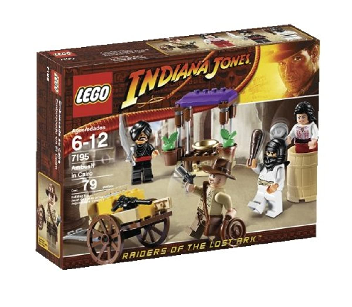 [해외] LEGO INDIANA JONES AMBUSH IN CAIRO (7195)