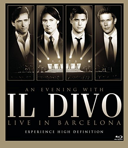 Blu-ray : Il Divo - An Evening with Il Divo: Live in Barcelona (Blu-ray)