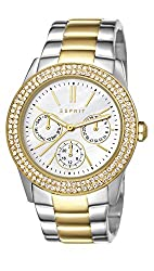 Esprit Analog White Dial Womens Watch - ES103822015