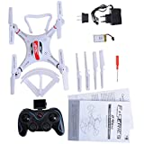 kingtoys® JJRC H11d 5.8G Fpv RC Drone con 2.0MP HD Fotocamera 2.4G 4ch 6axis Headless modalità RC Quadcopter Hexacopter arancioni