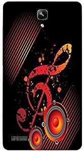 Timpax protective Armor Hard Bumper Back Case Cover. Multicolor printed on 3 Dimensional case with latest & finest graphic design art. Compatible with Xiaomi Red Mi Note Design No : TDZ-21731