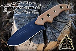 TOPS KNIVES Wilderness Guide 4.0 and Kit Bushcraft WSG-4