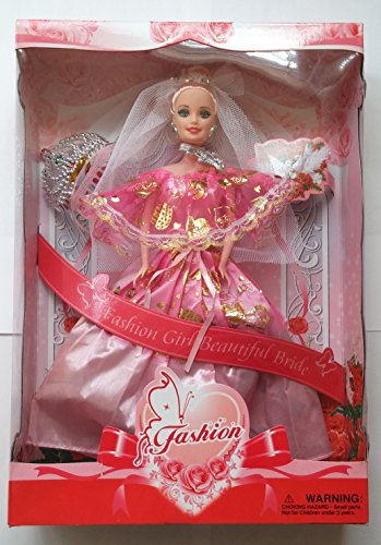 Fashion Girl Beautiful Bride Doll - 1