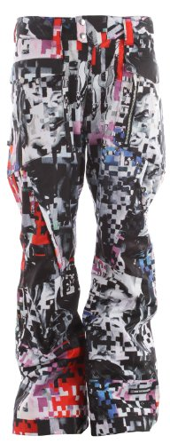Ride Westlake Snowboard Pants Spaceknuckle Print Mens Sz L
