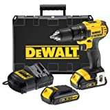 Dewalt 18V XR Lithium-Ion Cordless 2-Speed Drill Driver DCD780 with 3 Batteries (DCB181) and Charger (DCB105)