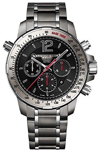 Raymond Weil Nabucco 7850-TI-05207 46mm Automatic Silver Steel Bracelet & Case Anti-Reflective Sapphire Men's Watch