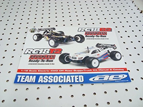 Team Associated Rc18 T2 B2 Brushless Owners Manual