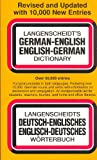 Langenscheidt's German-English English-German Dictionary (067186419X) by Langenscheidt
