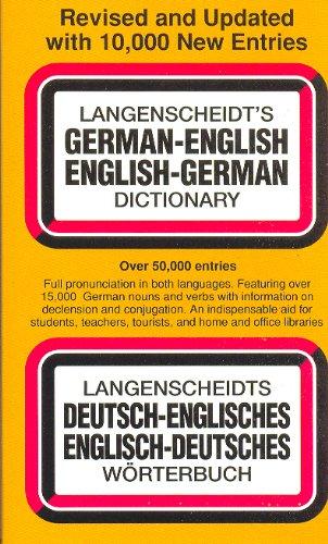 Langenscheidt's German-English English-German Dictionary