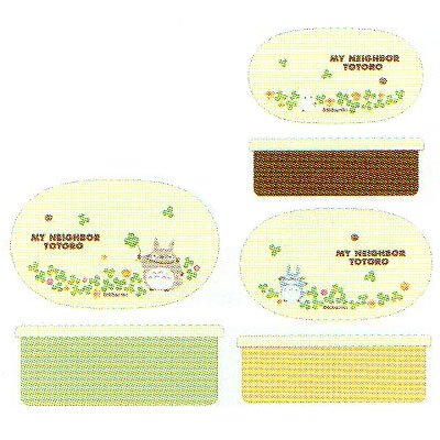 [Totoro] sealed containers 3 P set SRS3S ★ clover ★ ☆ kitchen tools ☆