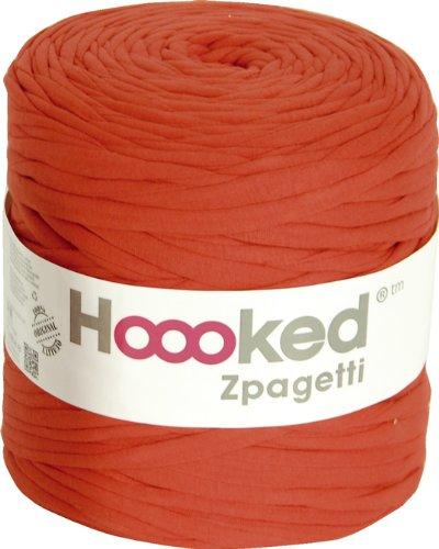 DMC Hooked Zpagetti #800 ズパゲッティ 手編み用コットン裂き布  Red (生産ロットにより色の変更あり)