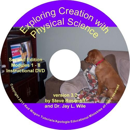 Exploring Creation with Physical Science Instructional DVD (v3.2) (Red Wagon Tutorials compare prices)