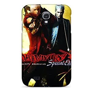 Galaxy S4 Case, Premium Protective Case With Awesome Look - Devil May Cry 3