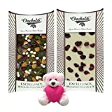Valentine Chocholik Premium Gifts - Enjoyable Combination Of Yummy Chocolate Bar With Teddy