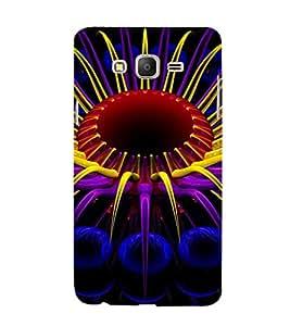 EPICCASE Digital flower case Mobile Back Case Cover For Samsung Galaxy E7 (Designer Case)