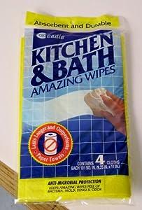 Kitchen & Bath Amazing Wipes (Set of 4)