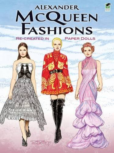 alexander-mcqueen-fashions-re-created-in-paper-dolls-green-edition