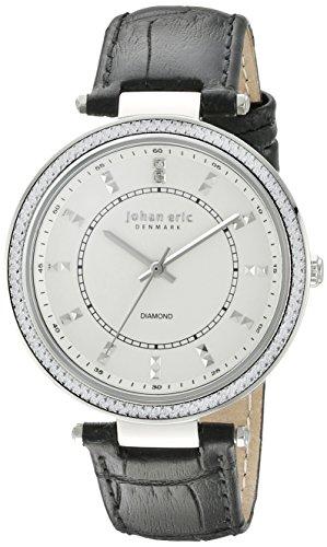 Johan Eric para mujer je1000b - 04-001, Ballrup pantalla 7 analógico de cuarzo reloj de Hombre de estilo