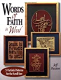 img - for Words of Faith in Wood: 53 Artistic Patterns for the Scroll Saw book / textbook / text book