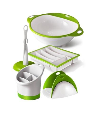 Promab Set 5 Pezzi Accessori Cucina Verde | Vivo A Milano Dai ...