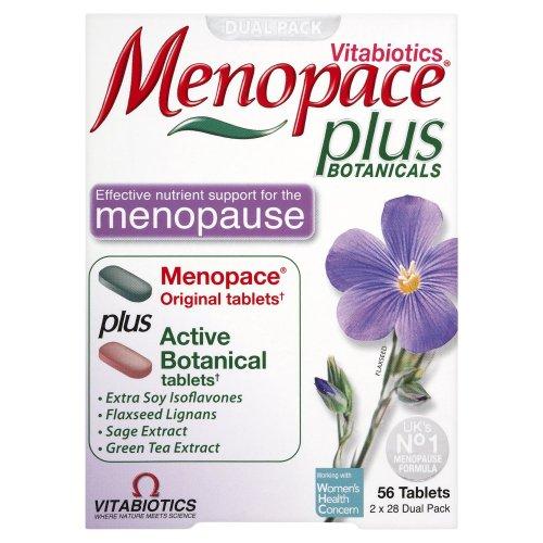 Vitabiotics Menopace Plus  56 Tablets 2x28 Dual Pack  1 Months supply