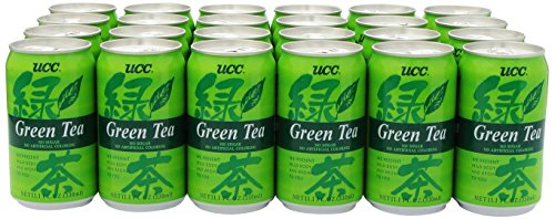 UCC Green Tea, 11.1-Ounce Cans (Pack of 24) (Can Green Tea compare prices)