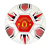 Manchester United Football Merchandise (Crest Ball White)