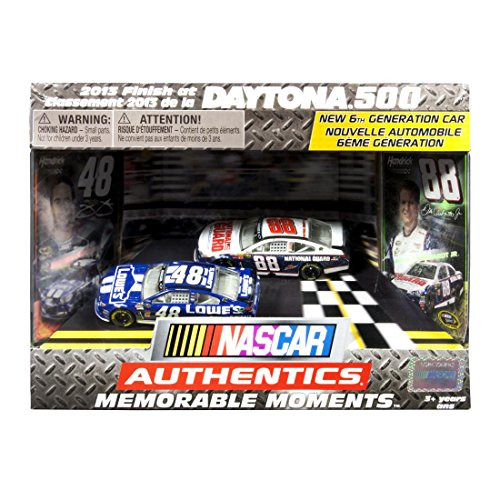 "NASCAR Authentics - Memorable Moments - Daytona 500"" Jimmie Johnson #48 Dale Earnhardt Jr. #88 - 1"