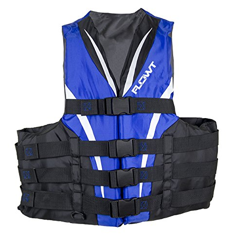 Omega 40401-L/XL Type III Extreme Sport Life Vest (Blue, Large/X-Large)