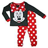 Minnie Mouse Girls 12M-5T Cotton Sleepwear Set