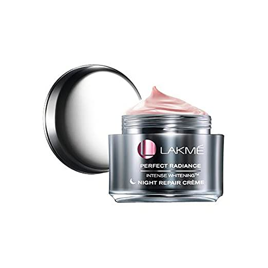Lakme Perfect Radiance Intense Whitening Night Creme, 50g