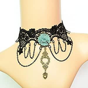 Amazon.com: Lukso :Vintage choker necklaces Gothic costume
