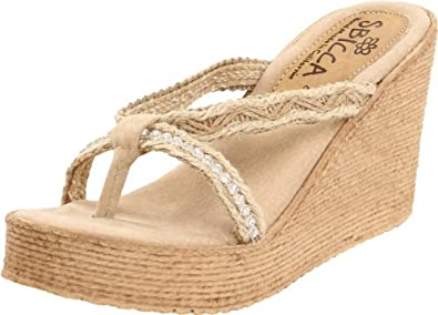 Amazon.com: Sbicca Women's Jewel Wedge Sandal: Shoes