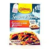 COLMANS SEASON AND SHAKE SAUSAGE AND HERB CASSEROLE