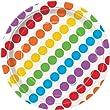 Rainbow Birthday 7 inch Paper Plates x 8